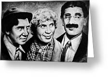 Marx Bros Greeting Card