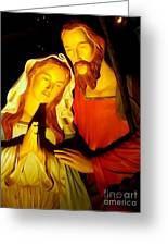 Mary And Joseph Greeting Card