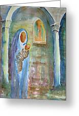 Mary And The Child Greeting Card
