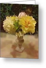 Mary Beth's First Spring Flowers Greeting Card