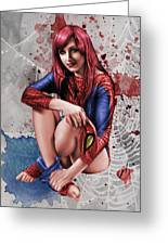Mary Jane Parker Greeting Card