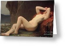 Mary Magdalene In The Cave Greeting Card by Jules Joseph Lefebvre