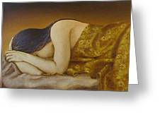 Mary Magdalene-the Dream Greeting Card