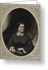 Mary Todd Lincoln, First Lady Greeting Card