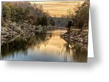 Maryland Canal Sunrise Greeting Card