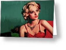 Marylin Monroe Greeting Card