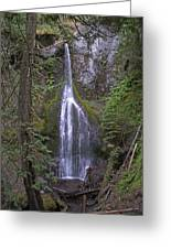 Marymere Falls Greeting Card
