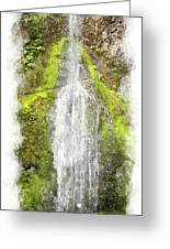 Marymere Falls Wc Greeting Card