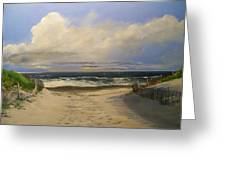 Mary's Beach Greeting Card