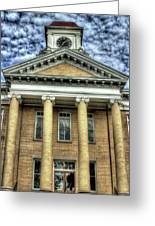 Maryville Tennessee Courthouse  Greeting Card