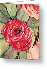 Ma's Roses 3 Greeting Card