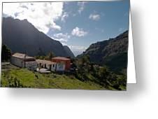 Masca Valley And Parque Rural De Teno 4 Greeting Card