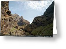 Masca Valley Entrance 2 Greeting Card