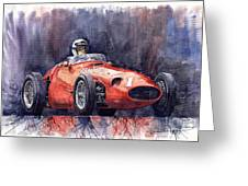 Maserati 250f Greeting Card