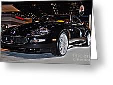 Maserati Gransport Greeting Card