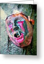 Mask Attached To Trunk 1 Greeting Card