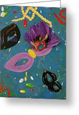 Mask Party Greeting Card