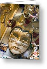 Masks For Sale - Venice, Italy Greeting Card