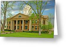 Mason County Courthouse Greeting Card
