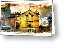 Masonic Lodge 2 Greeting Card