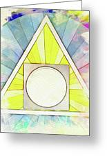 Masonic Symbolism - Alchemy Greeting Card