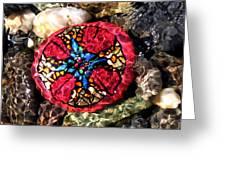Masons Mosaic Greeting Card