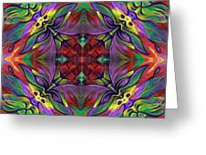 Masqparade Tapestry 7d Greeting Card