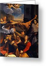 Massacre Of The Innocents 1611 Greeting Card