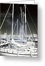 Mast Angles Greeting Card