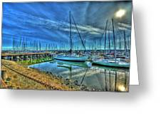 Masts Without Sails Greeting Card by Dale Stillman