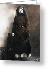 Mata Hari (1876-1917) Greeting Card
