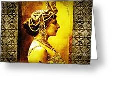 Mata Hari Greeting Card