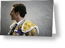 Matador Salvador Cortes I Greeting Card
