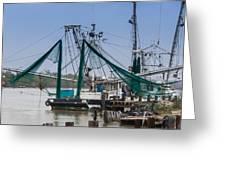 Matagorda Fishing Boats Greeting Card
