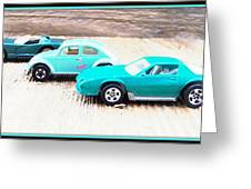 Matchbox Cars Greeting Card