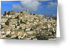 Matera Italy Greeting Card