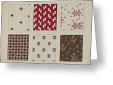 Materials From Quilt Greeting Card
