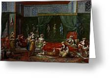 Private Chamber Of An Aristocratic Turkish Woman Greeting Card