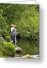 Mates Fishing Greeting Card