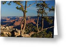 Mather Point South Rim Grand Canyon Greeting Card