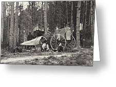Mathew Brady Wagon Greeting Card