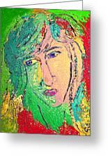 Matisse Inspiration Greeting Card