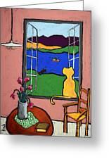 Matisse's Cat Greeting Card