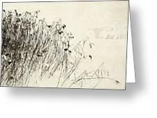 Matsuo Basho Remembering Greeting Card