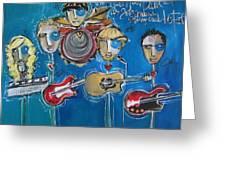 Matt Nasi Band At The Cherry Creek Arts Festival Greeting Card