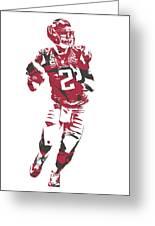 Matt Ryan Atlanta Falcons Pixel Art 6 Greeting Card