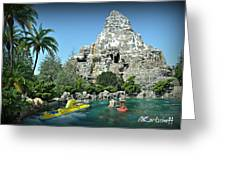 Matterhorn And The Sub Greeting Card