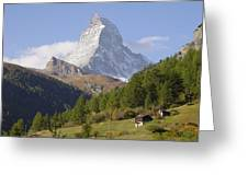 Matterhorn Switzerland Greeting Card