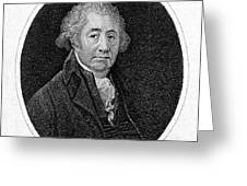 Matthew Boulton, English Manufacturer Greeting Card