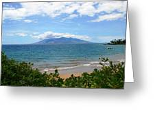 Maui Beach Greeting Card